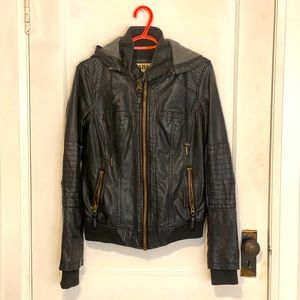 "Garage Leather ""Perfect Bomber"" Jacket"